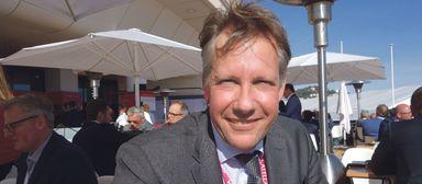 Alexandre Grellier 2019 auf der Mipim im französischen Cannes. Die Immobilienmesse in ihrem gewohnten Format fiel dieses Jahr dem Virus zum Opfer.