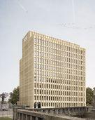 Quelle: Klingsöhr Unternehmensgruppe, Urheber: Architekt: Oliver Czaia, Visualisierung: Philipp Obkircher