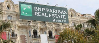Auf der Mipim in Cannes - hier das Carlton-Hotel - konnte BNPPRE heuer keine Mandate einsammeln.