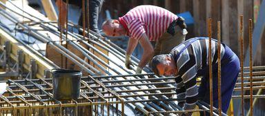 Der Anteil der Kurzarbeiter ist auf dem Bau viel geringer als in anderen Branchen.