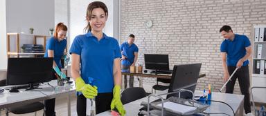 Schätzungsweise ca. 80% der rund 700.000 Beschäftigten in der Gebäudereinigung in Deutschland arbeiten in der Lohngruppe 1.