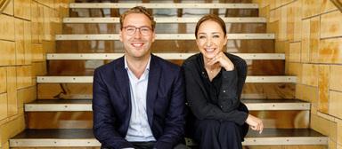 Cornelius Jebe und Laura Urbath führen ZK Grundinvest Neubau.