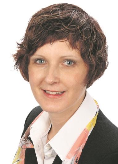 Iris Schönbeck, Executive Director Human Resources.