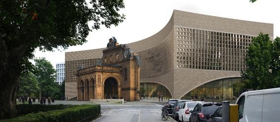Quelle: Stiftung Exilmuseum Berlin, Urheber: Dorte Mandrup Arkitekter A/S, Kopenhagen
