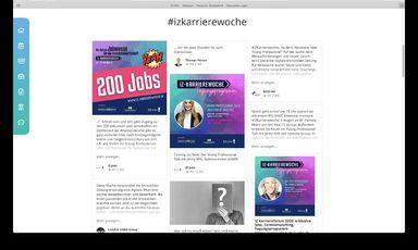 Die IZ-Karrierewoche: 200 Jobs und spannende Talks.