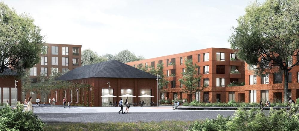 Quelle: Gebag, Urheber: Schönborn Schmitz Architekten, Berlin / Querfeldeins Landschaft, Dresden