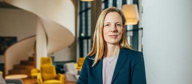 Helene von Roeder ist laut der Allbright Stiftung eine von 19 weiblichen CFOs in DAX, MDAX und SDAX.