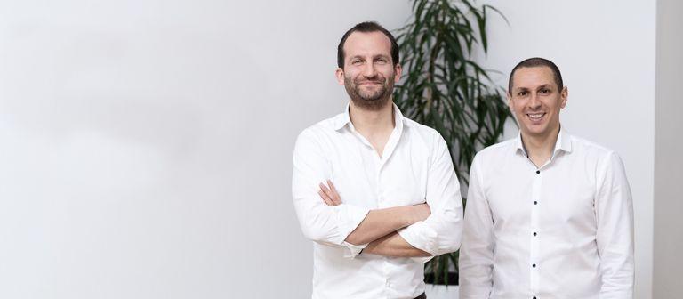 Sander van de Rijdt (links) und Ibrahim Imam.