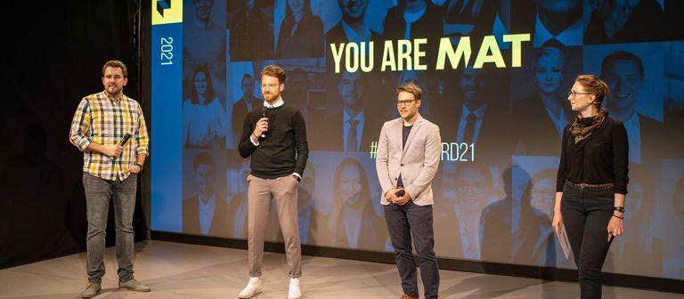 Dominik Talhof, Frederik Walbaum und Michael Urmann (von links) sind die Initiatoren des MAT-Netzwerks.