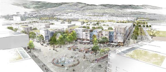 Quelle: Stadt Freiburg, Urheber: K9 Architekten, Latz + Partner, Steteplanung