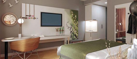 Rendering: Neudahm Hotel Interior Design