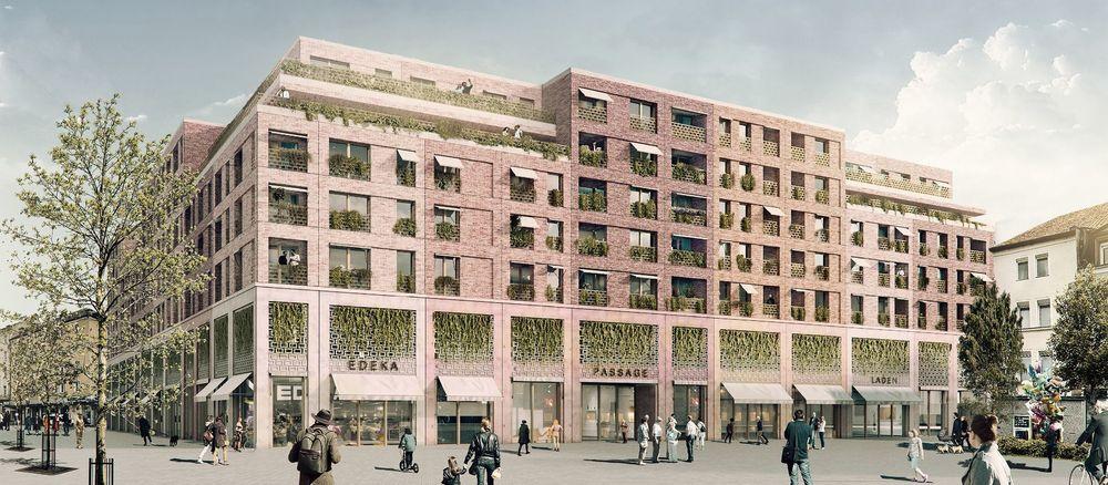 Quelle: H2M-Architekten und Stadtplaner/Ten Brinke, Visualisierung: 3dway architectural graphics