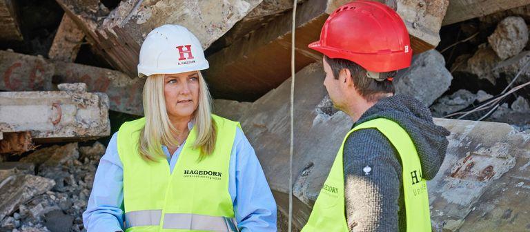 Barbara Hagedorn ist auf der Suche nach mehr Kolleginnen.