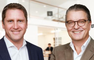 Jan Witte und Oliver Ihrt (v.l.n.r.)
