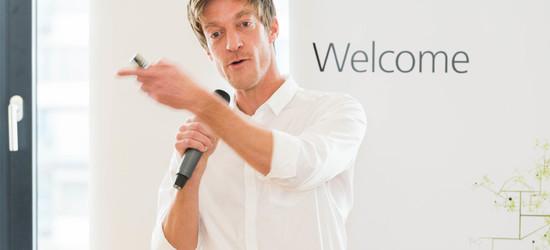 Hans Vermeulen, Mitgründer und Geschäftsführer der DUS Architects Amsterdam (10799 Immobilien Dialog Köln 2017)